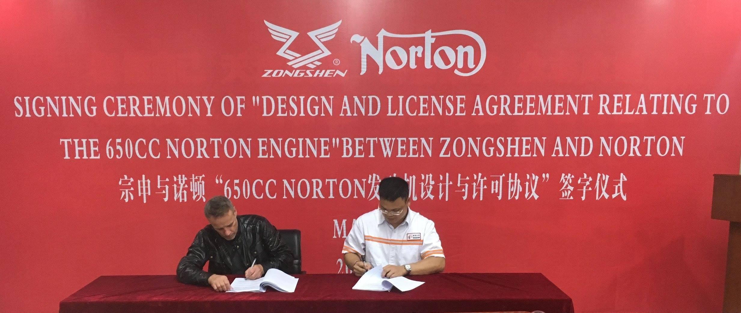 Norton se alía con China para fabricar motores, pero no cómo estás pensando