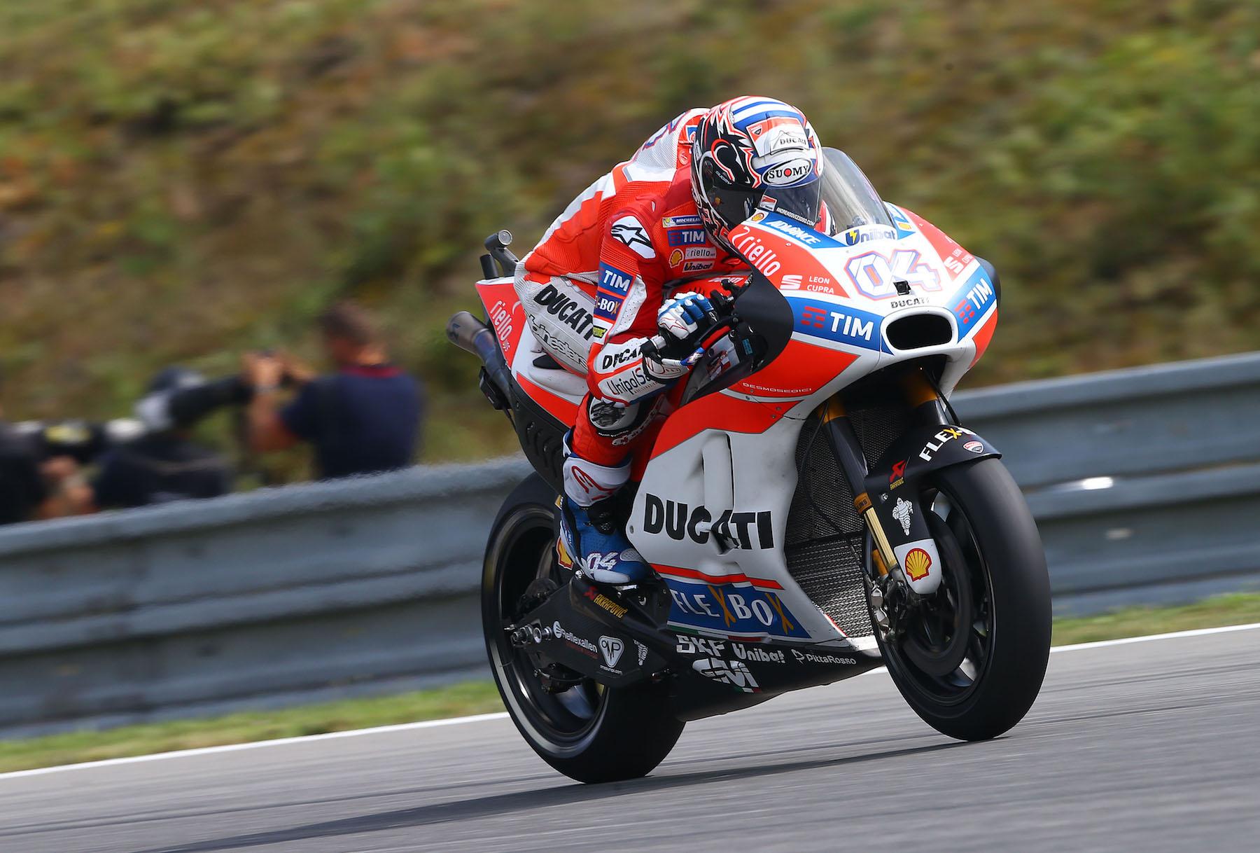 MotoGP vuelve con Andrea Dovizioso dominando en Brno