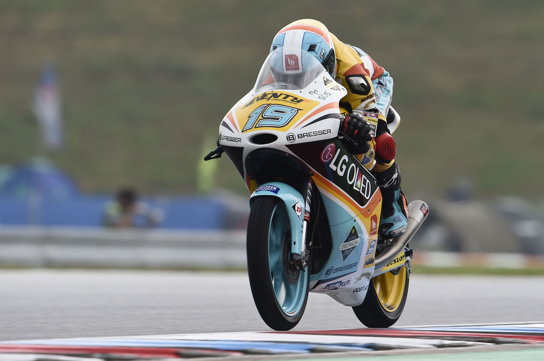 Gabri Rodrigo regala la primera pole del año a KTM