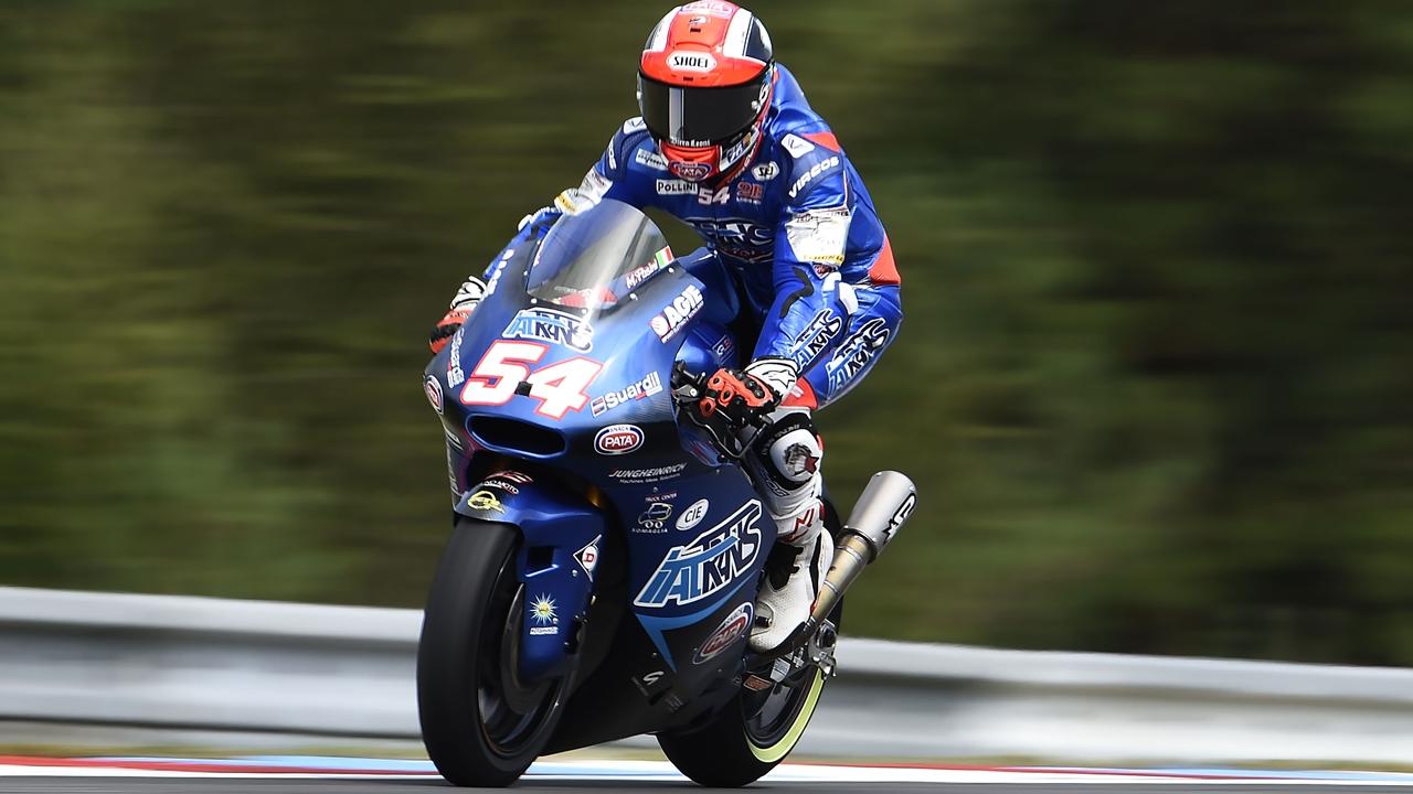 Mattia Pasini vuelve a la pole una década después