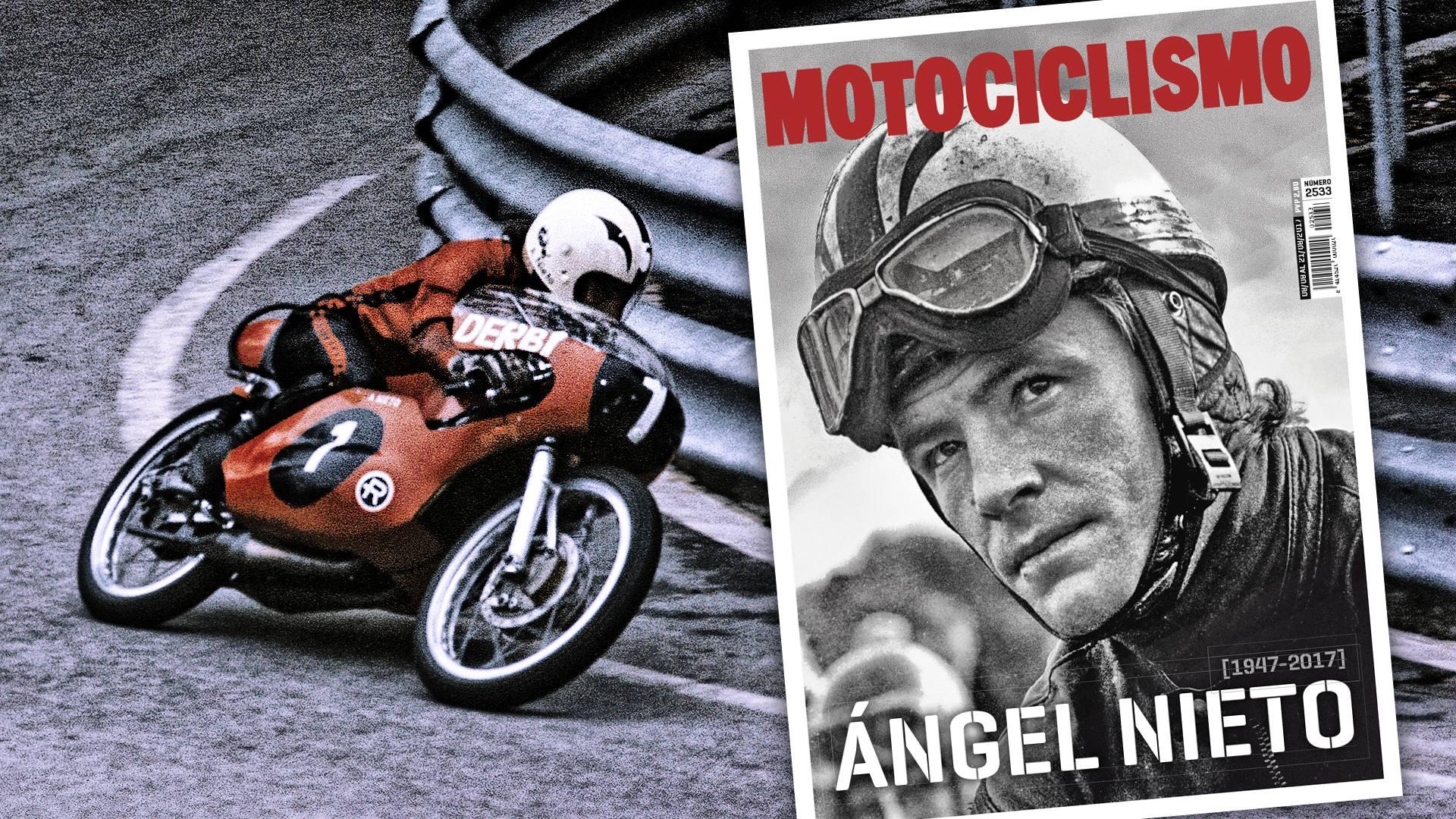 Homenaje a Ángel Nieto en MOTOCICLISMO