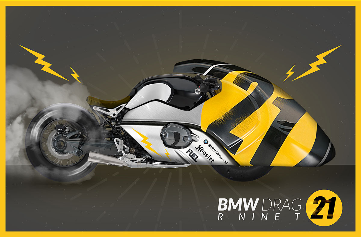 BMW Heritage Custom Project: Primeros bocetos