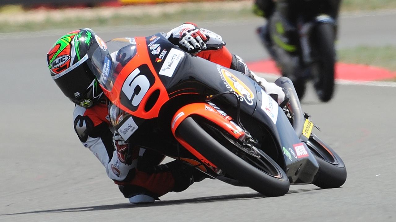 Jaume Masiá debutará en el Mundial de Moto3 en el Gran Premio de Austria