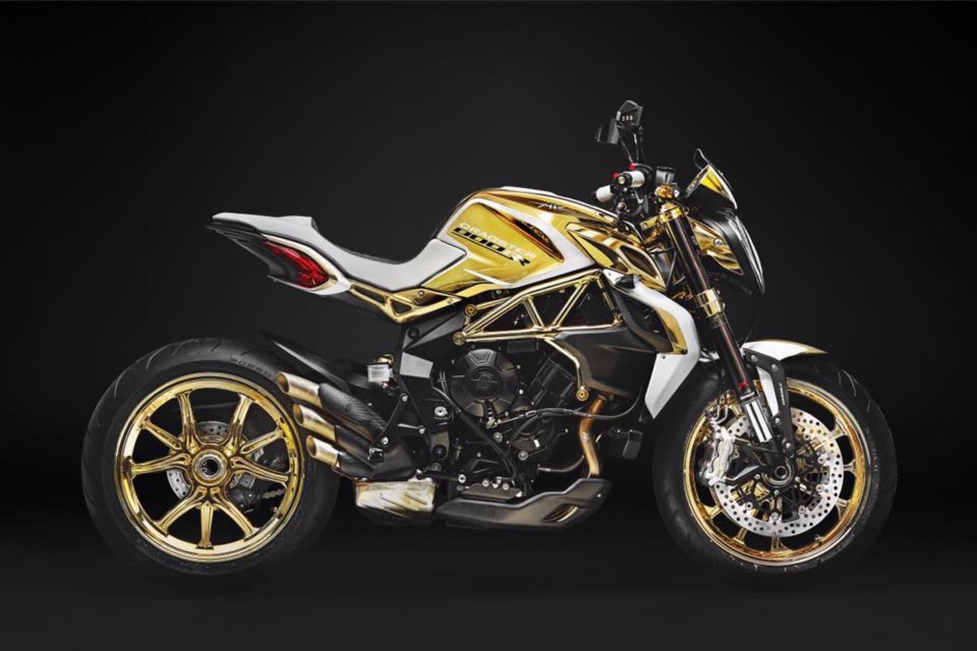 MV Agusta Dragster RR Gold Edition, cuando necesitas llamar la atención