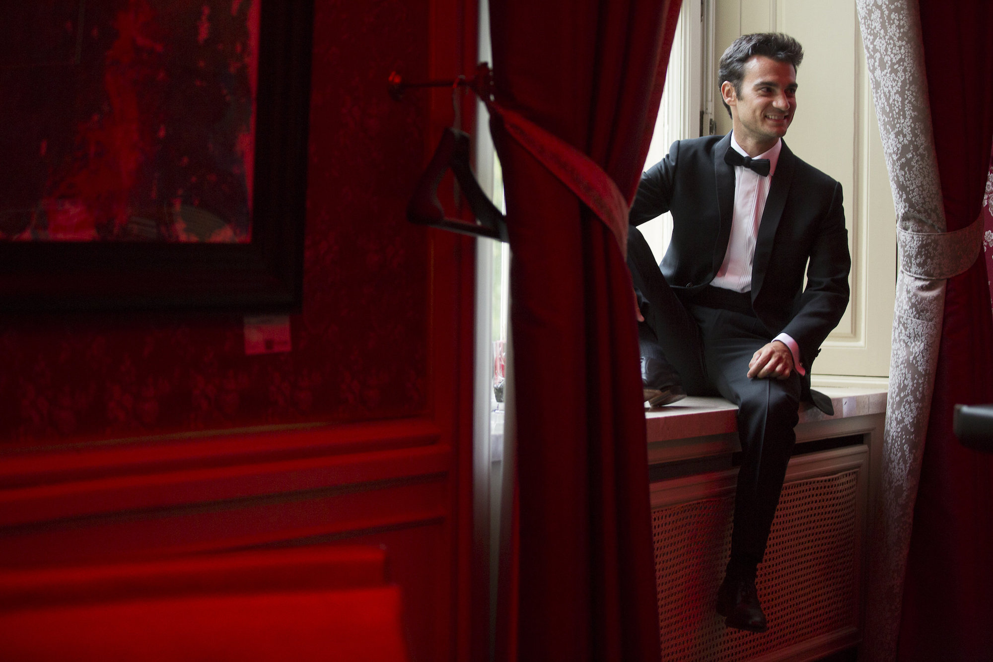 Dani Pedrosa a lo James Bond en Austria