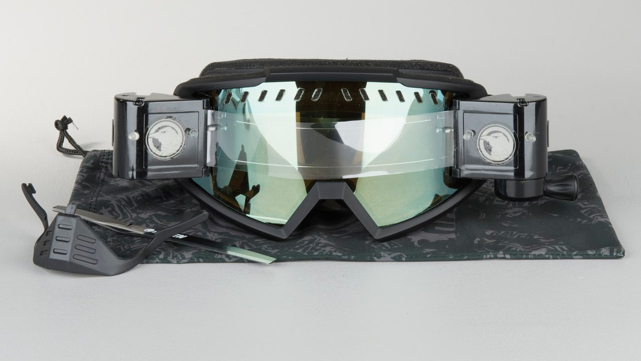 Gafas off road Raven, con roll-off y lente doble