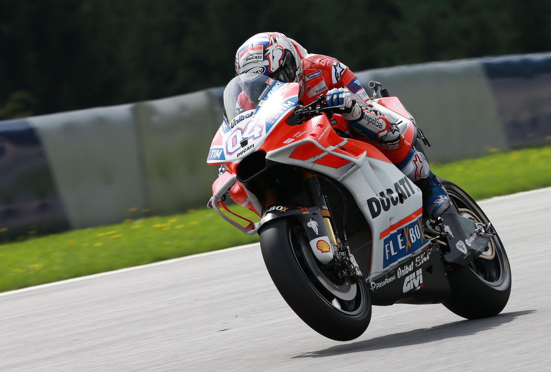 """Andrea Dovizioso: """"Puedo dormir tranquilo… los ingenieros de Ducati han hecho un gran trabajo"""""""