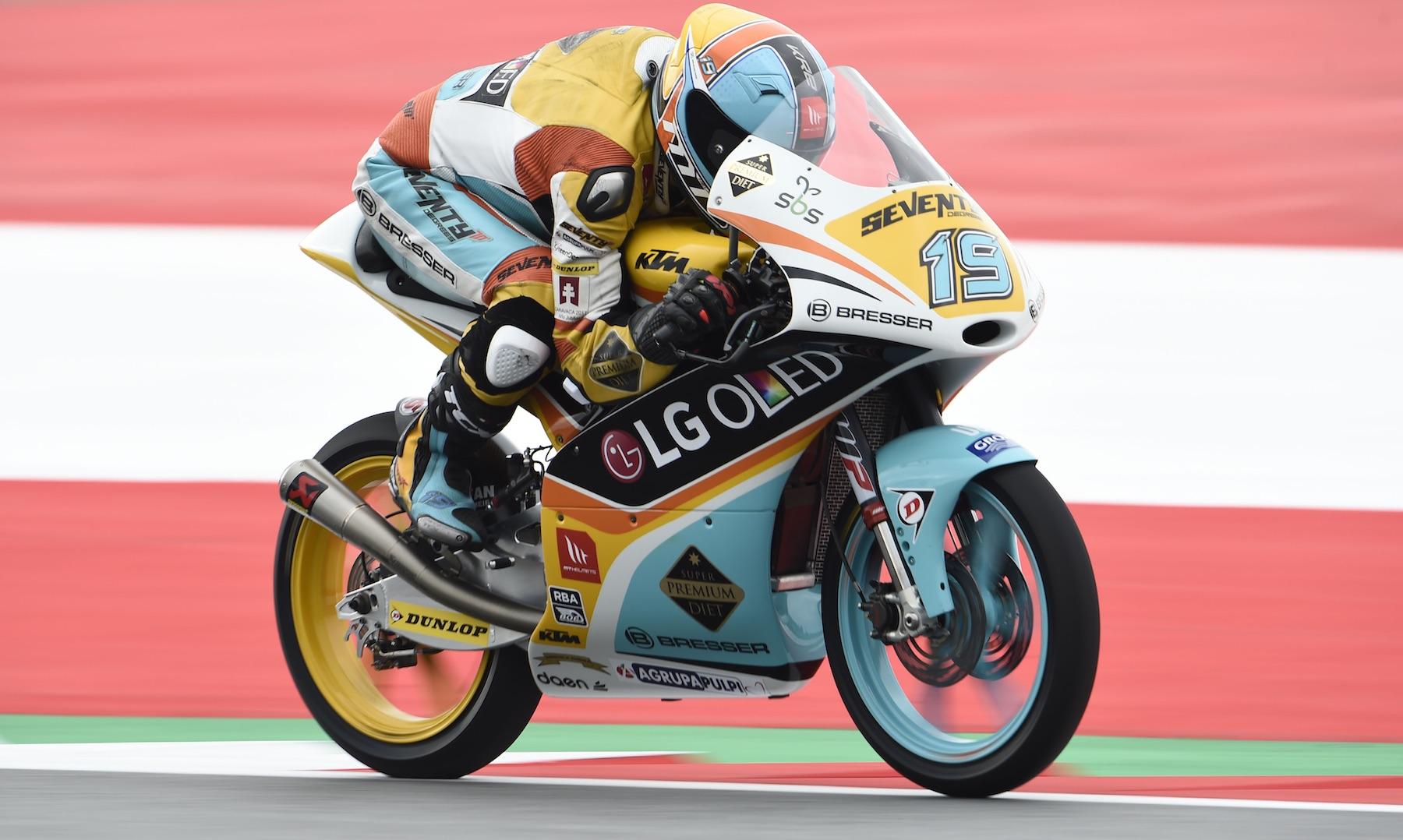 Gabri Rodrigo suma una segunda pole, ahora en casa de KTM