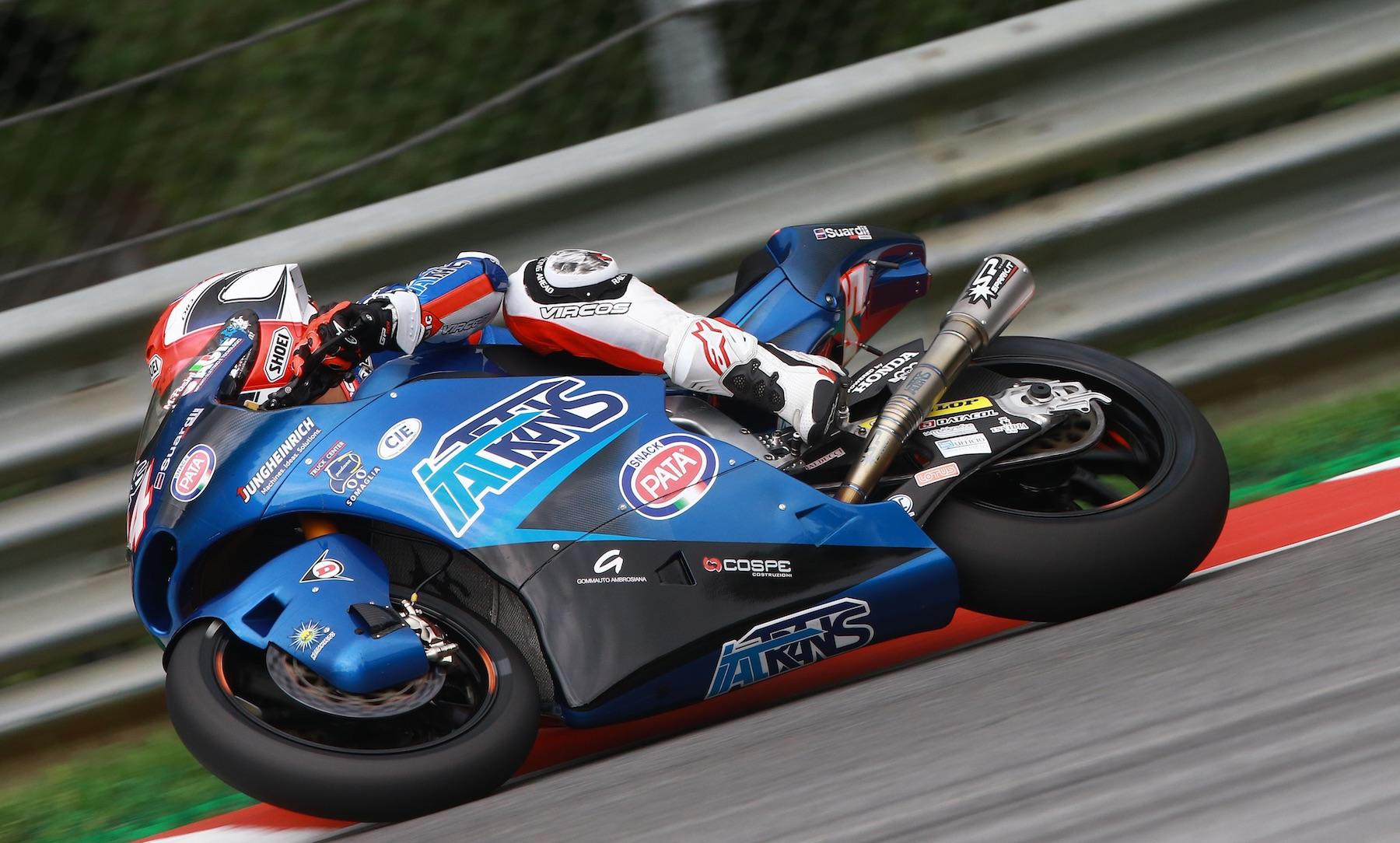 Mattia Pasini encadena su segunda pole position del año en Moto2