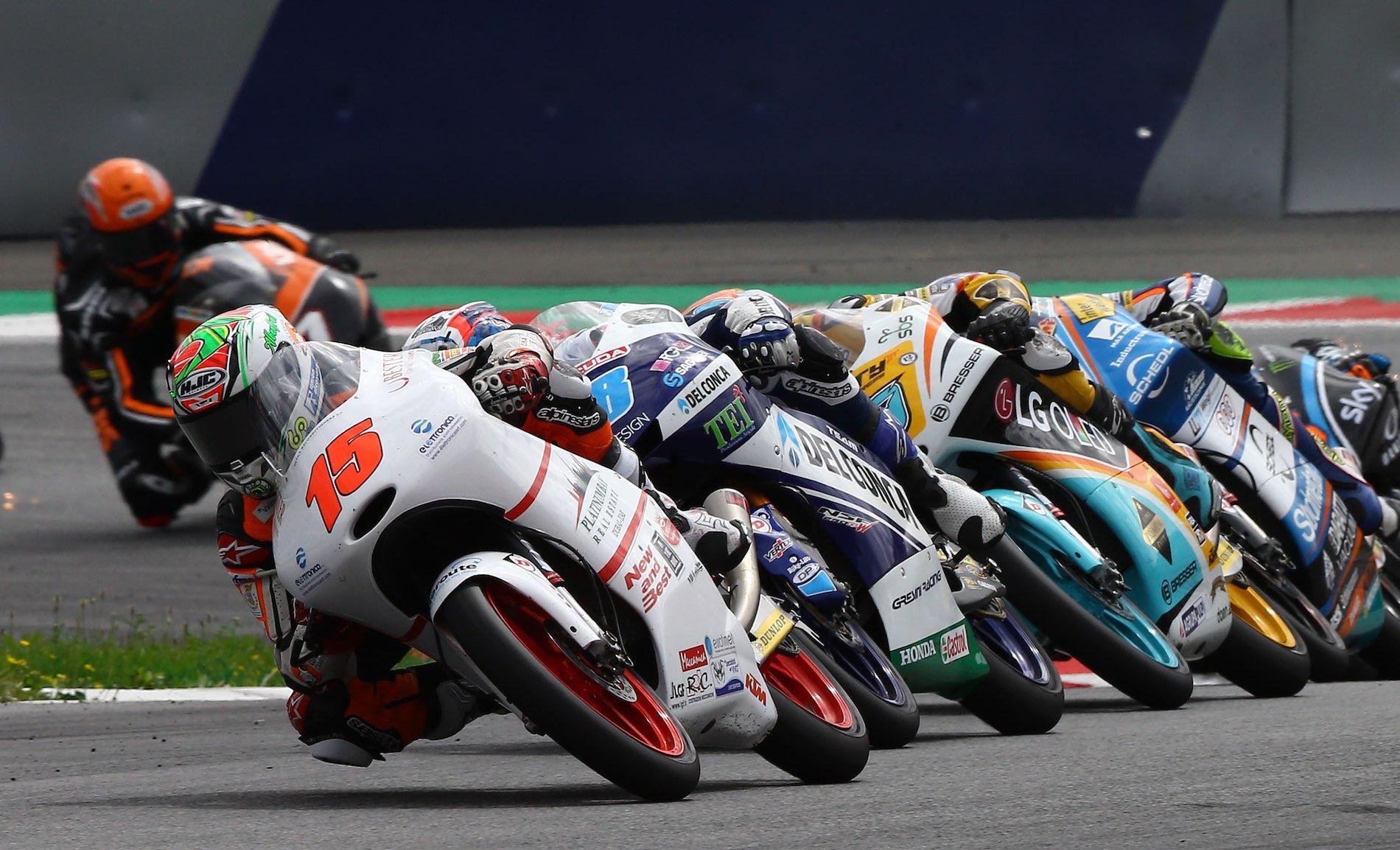 Jaume Masià y el cuarto escalón del podio de Austria