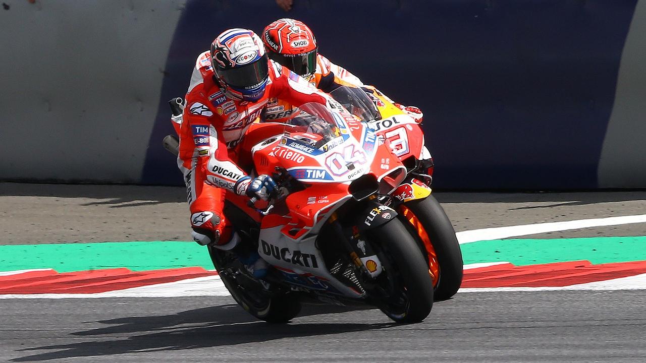 Andrea Dovizioso, el anti-Márquez
