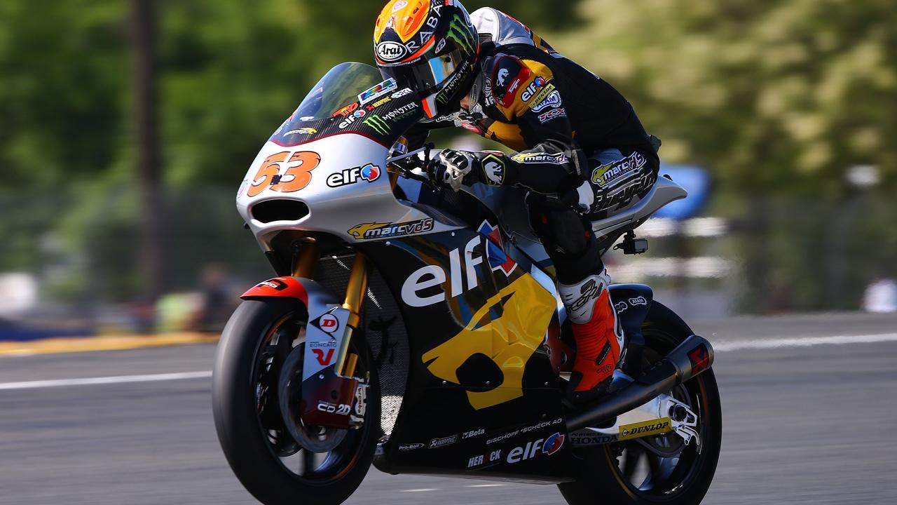 Roban la Moto2 con la que Tito Rabat fue campeón del mundo