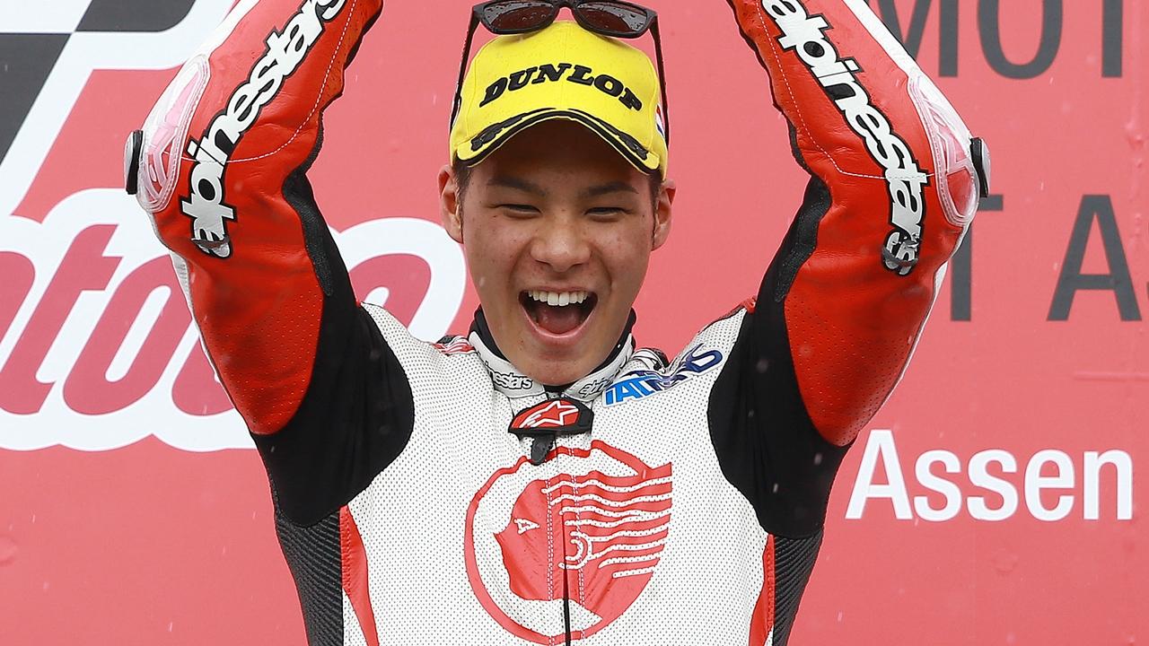 Takaaki Nakagami subirá a MotoGP en 2018 con el LCR Honda