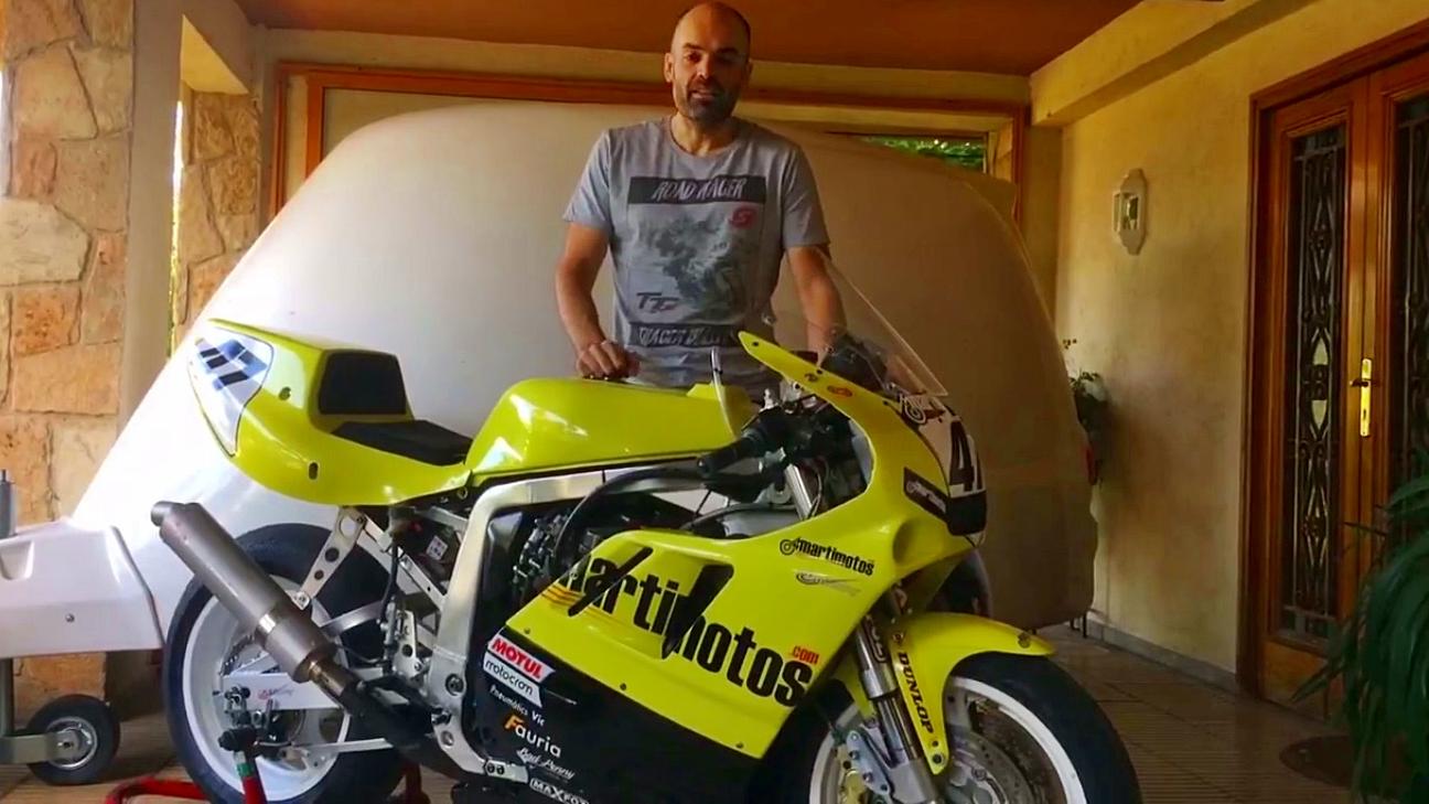 Raül Torras, listo para hacer historia en el Classic TT de la Isla de Man 2017