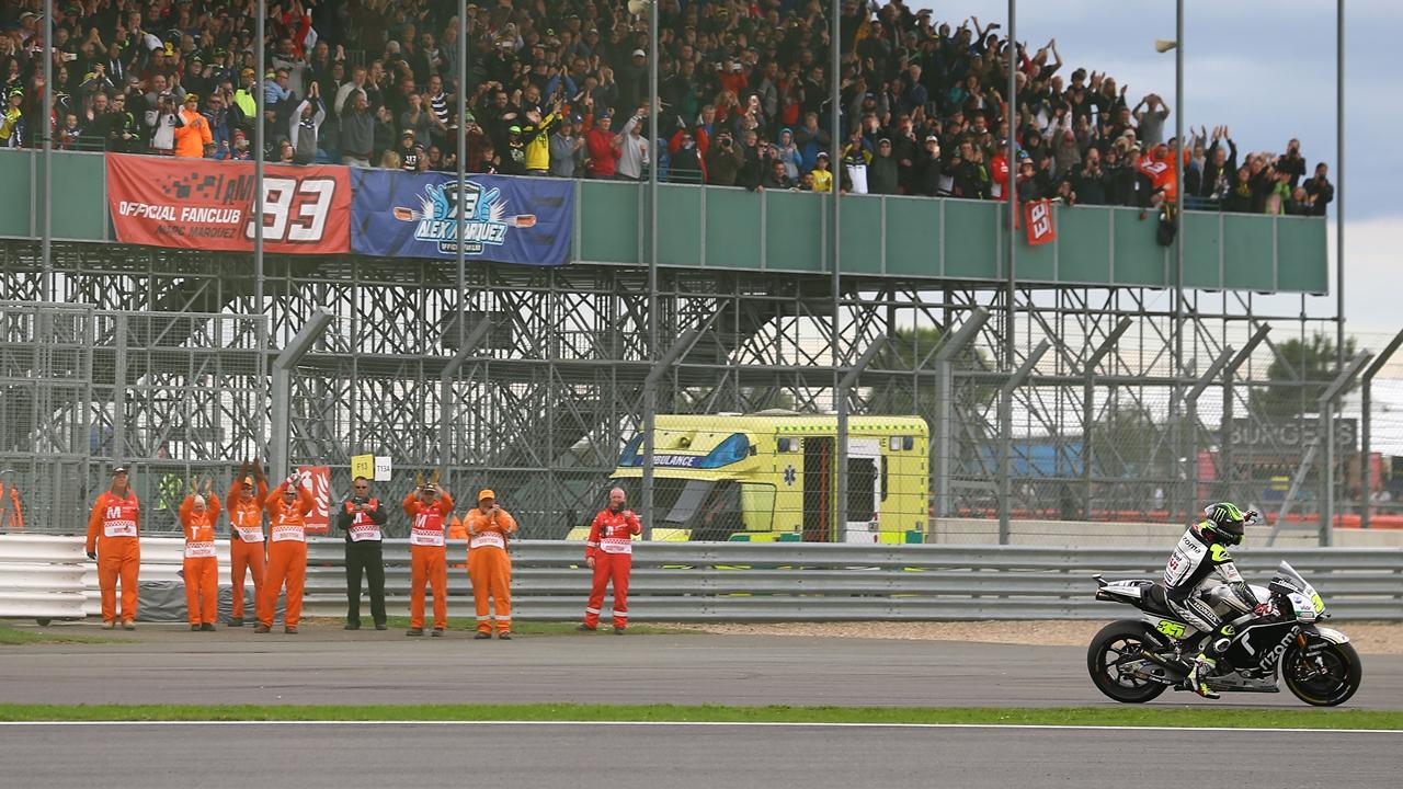 La carrera de MotoGP en Silverstone será más tarde para no coincidir con la F1