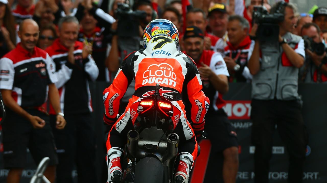 Chaz Davies y el día que Ducati ni podía soñar
