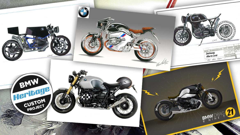 BMW Heritage Custom Project: ¡Arrancan las votaciones de los bocetos!