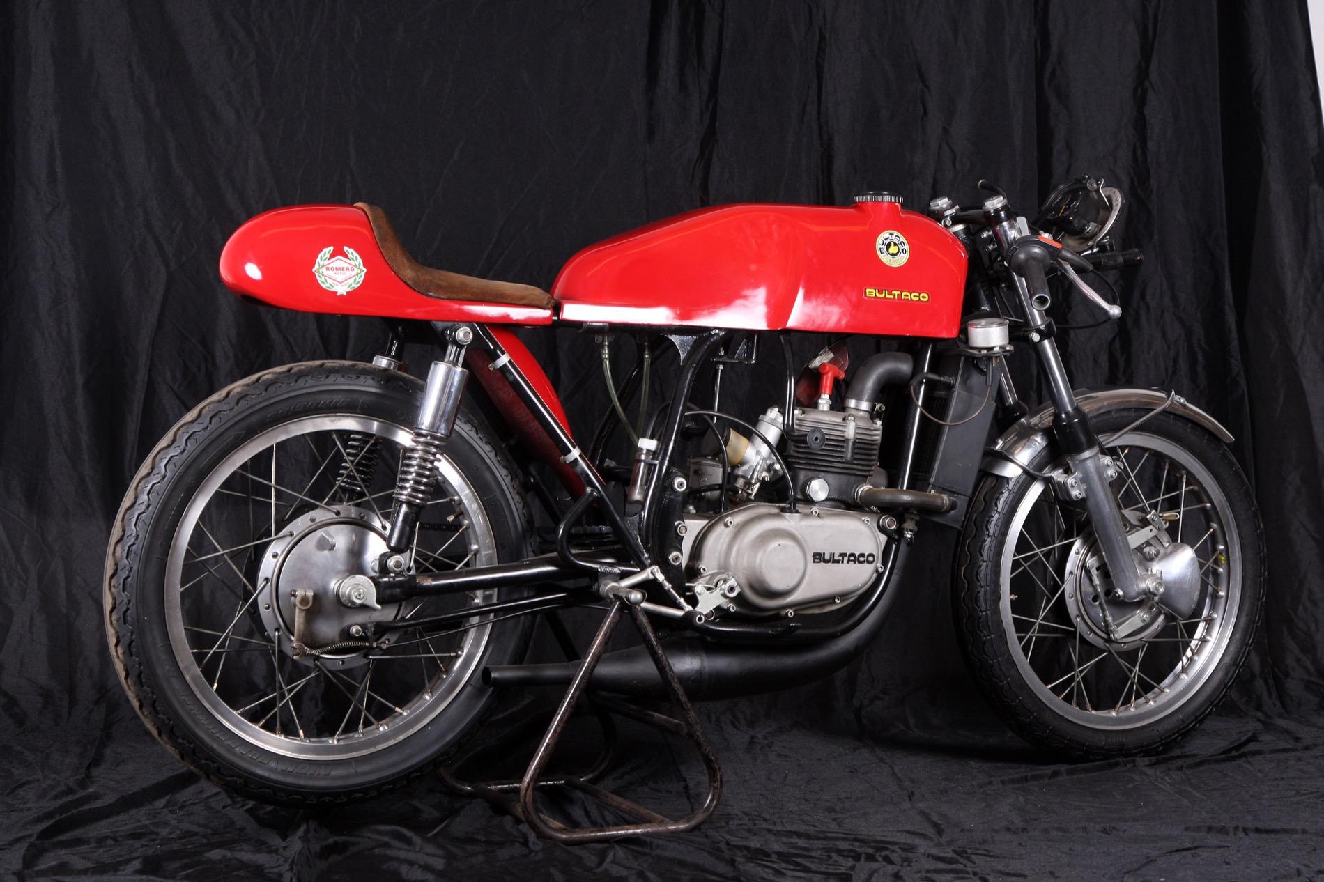 Bultaco TSS 125, con ella consiguió España su primera victoria en un GP