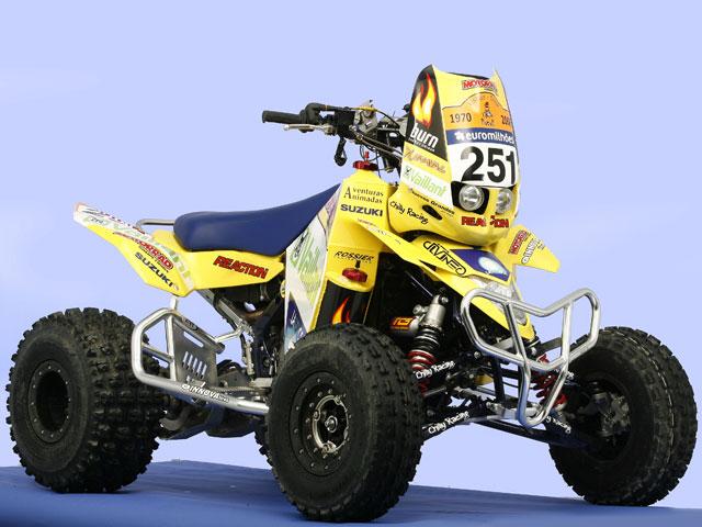 Suzuki LT-R 450 Chilly Racing