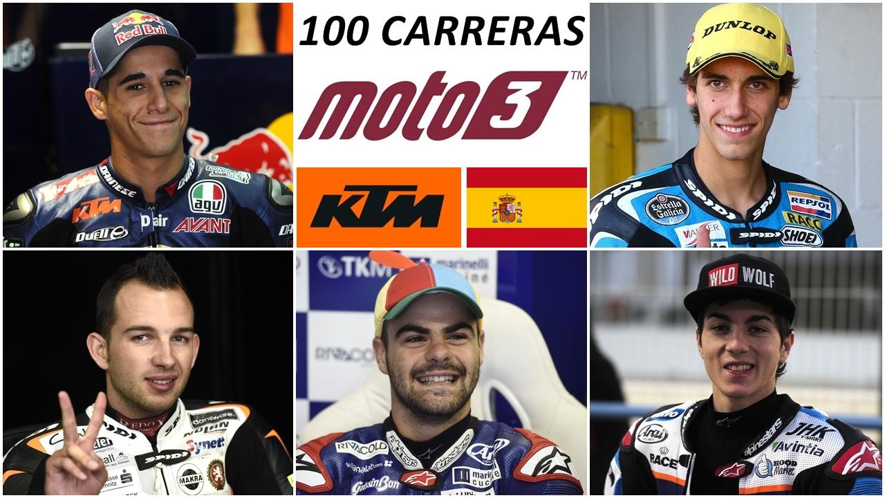 100 carreras de Moto3, puro motociclismo en envases pequeños