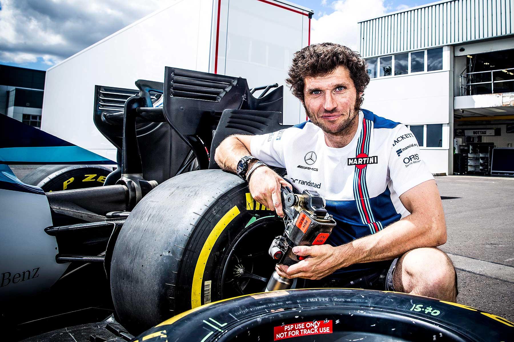 """Guy Martin en la Formula 1, """"El último avance en motos fue la Britten… ¡hace 30 años!"""""""