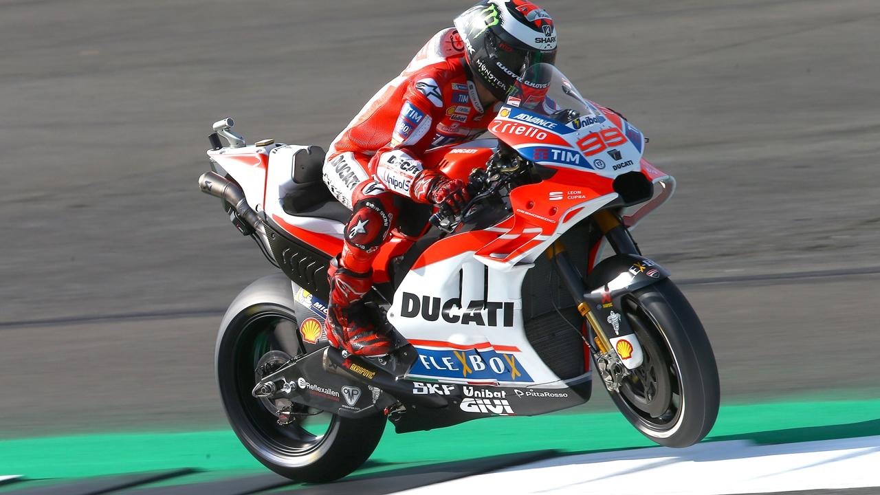 Jorge Lorenzo 'Progresa adecuadamente' en su primer curso en Ducati