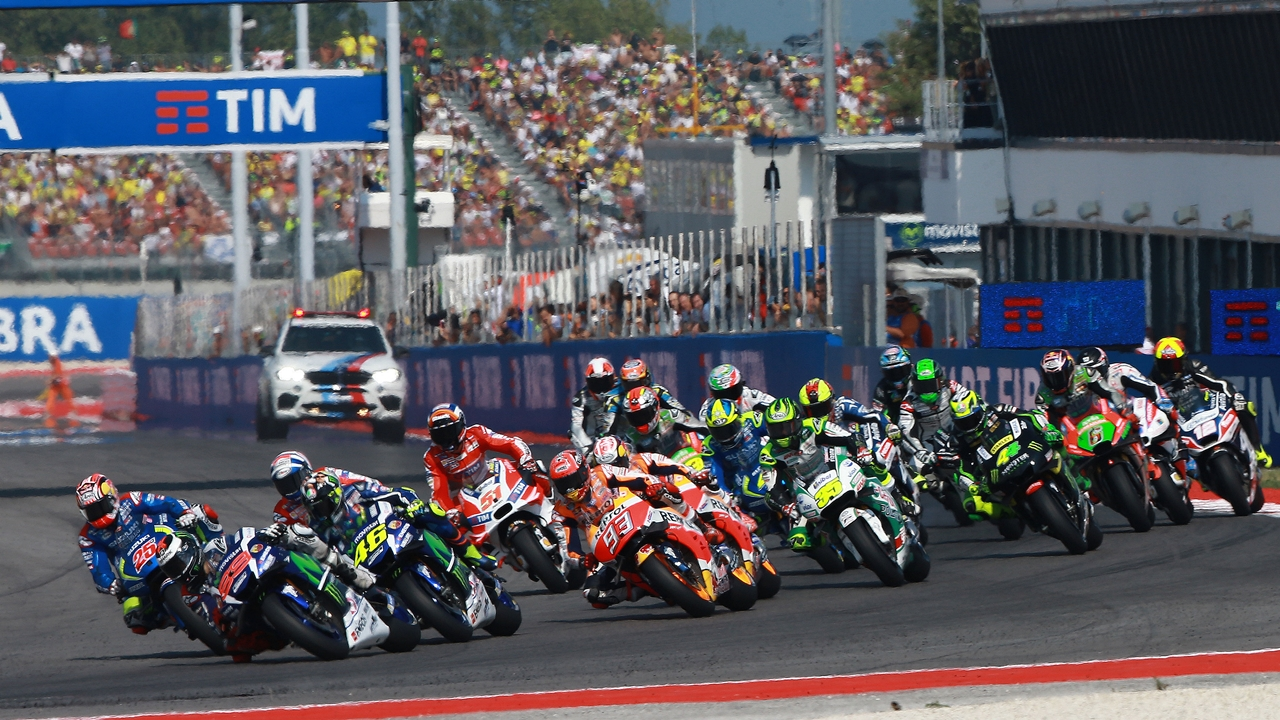 MotoGP Misano 2017, horarios TV y dónde ver las carreras