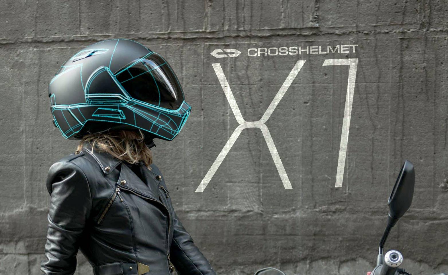 Crosshelmet X1, precio y todos los detalles del casco que quiere revolucionar el sector