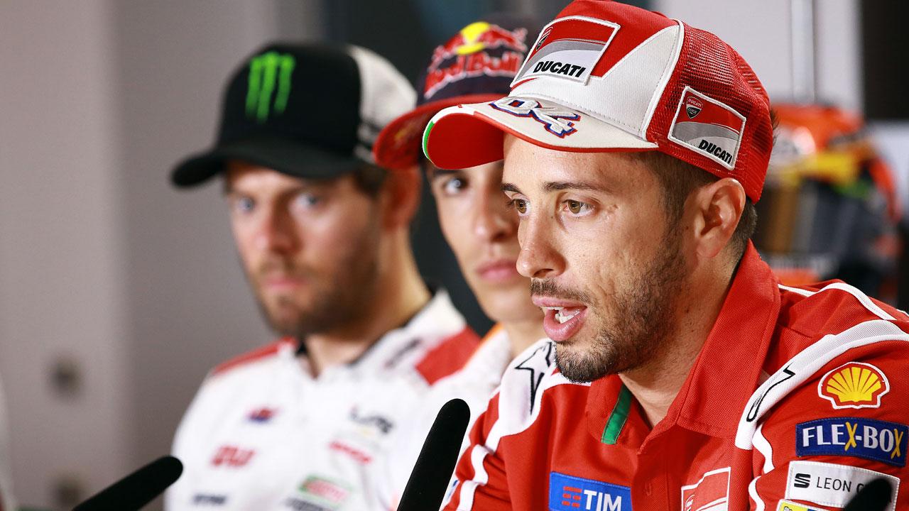 """Andrea Dovizioso: """"Misano no es uno de los mejores circuitos para Ducati"""""""