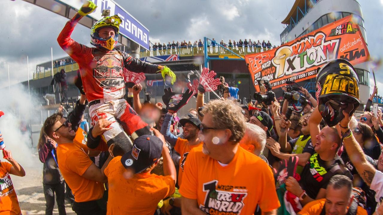 Tony Cairoli se proclama campeón de MXGP 2017 y suma su noveno título mundial