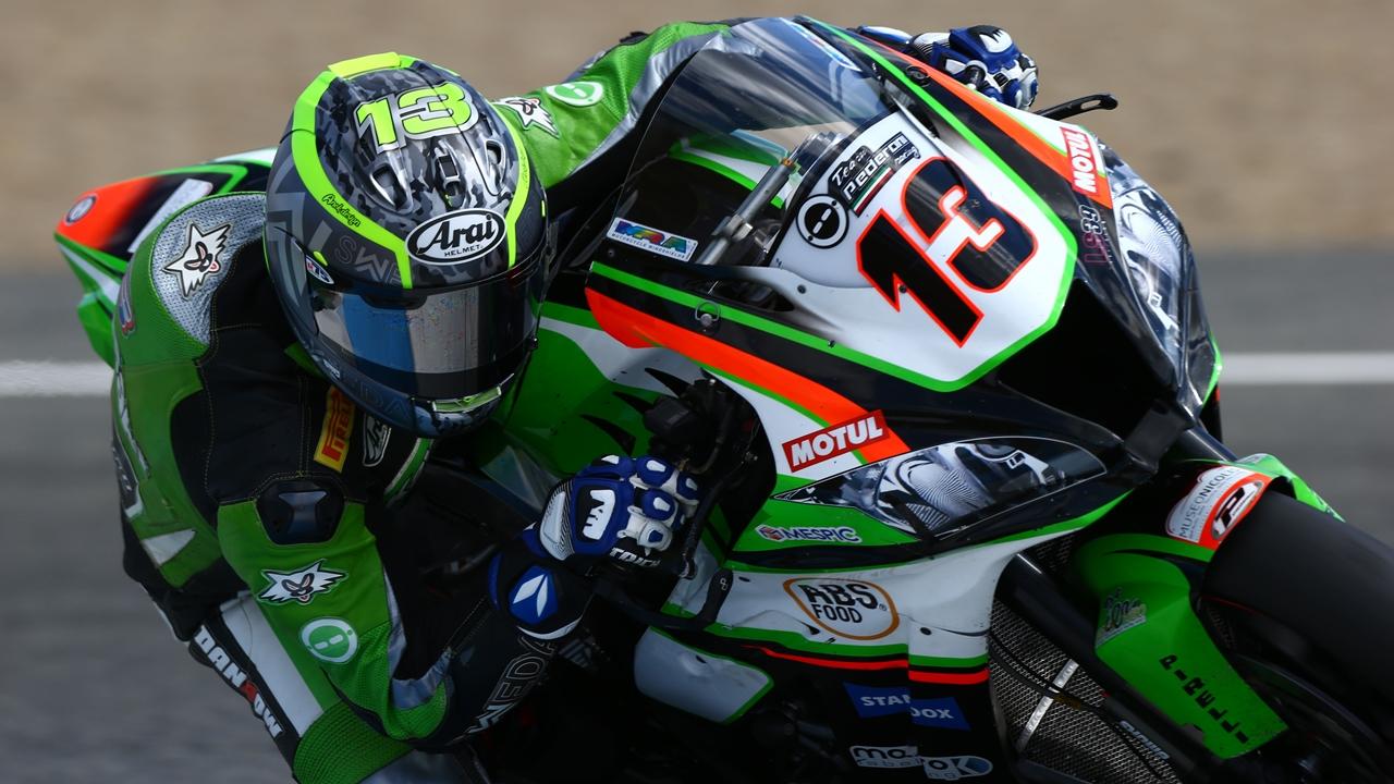 Anthony West vuelve al Mundial de Superbike con una Kawasaki