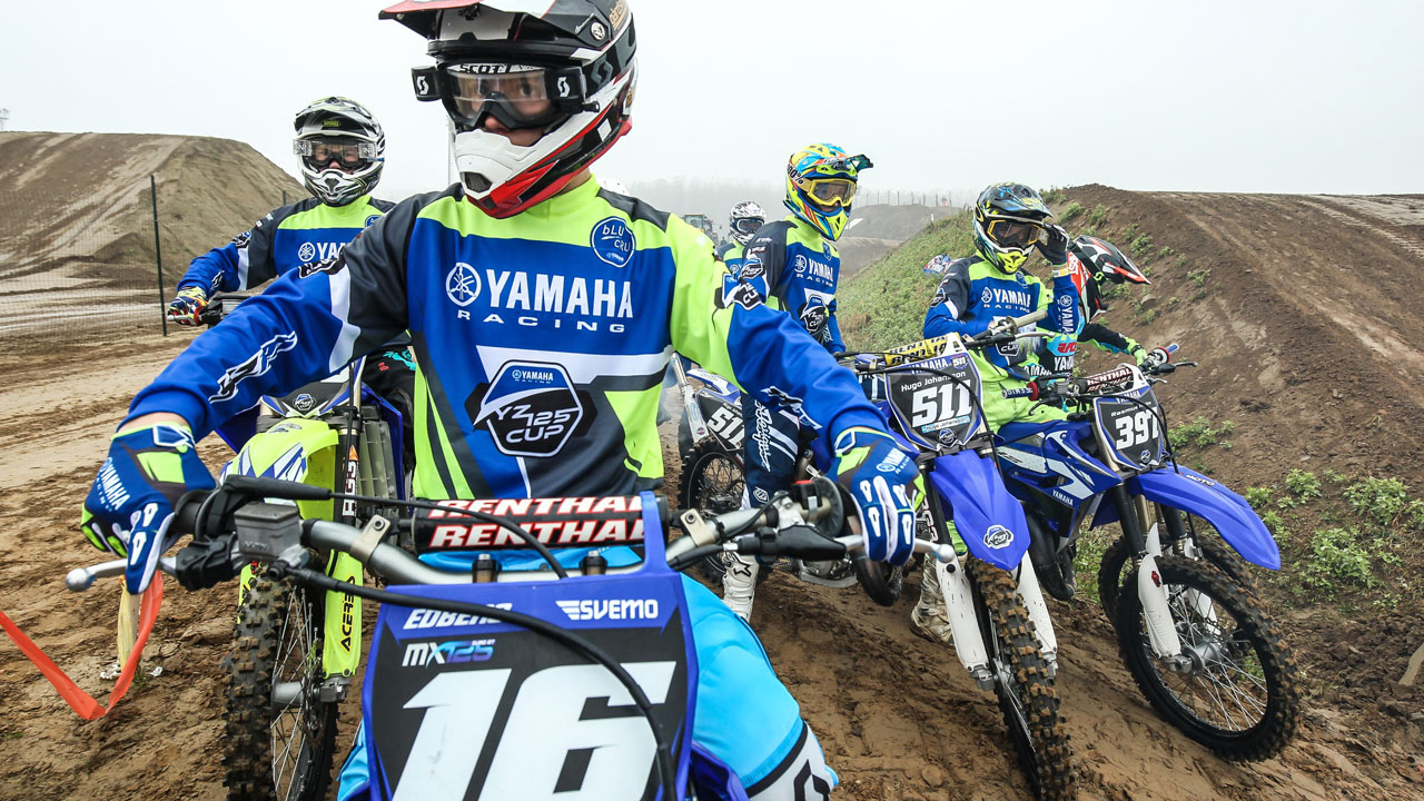 La Yamaha YZ 125 bLU cRU Cup disputará la Superfinal europea en Matterly Basin