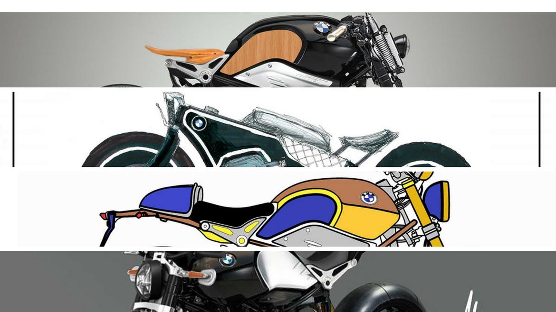 BMW Heritage Custom Project: LLegó la hora de los bocetos