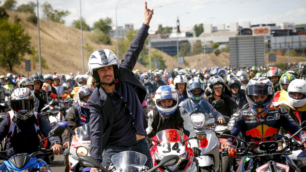 Madrid celebra la vida de Ángel Nieto en un evento para la historia