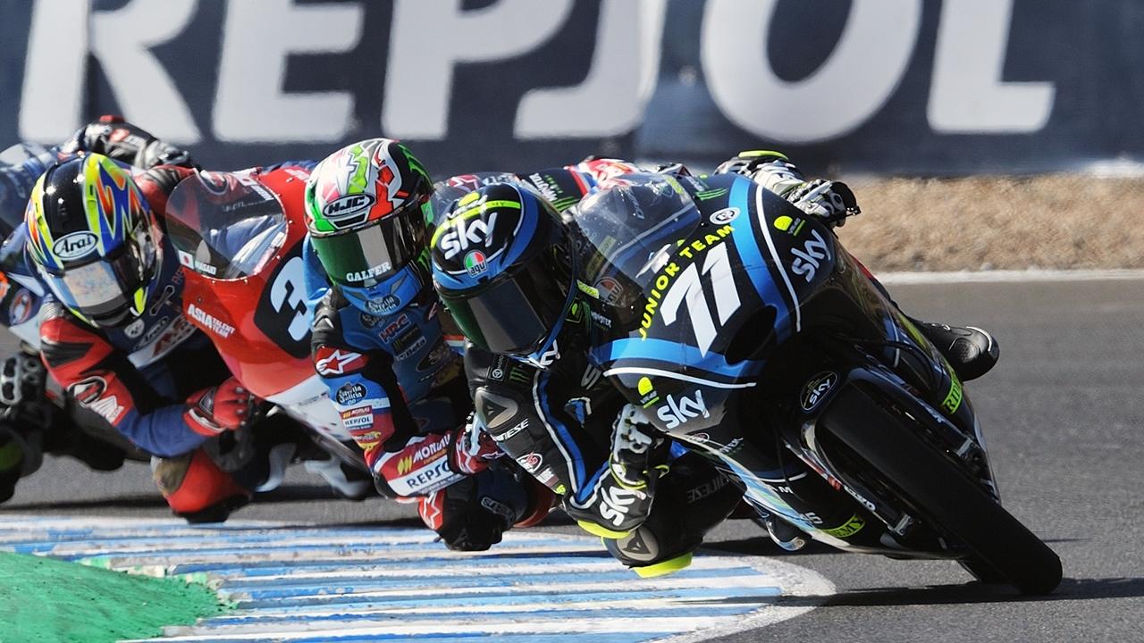 Dennis Foggia roza el Mundial Junior de Moto3 pese al dramático final en Jerez