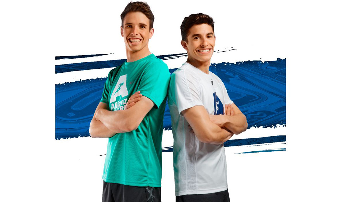 Marc y Alex Márquez te esperan en la Allianz Night Run en Valencia
