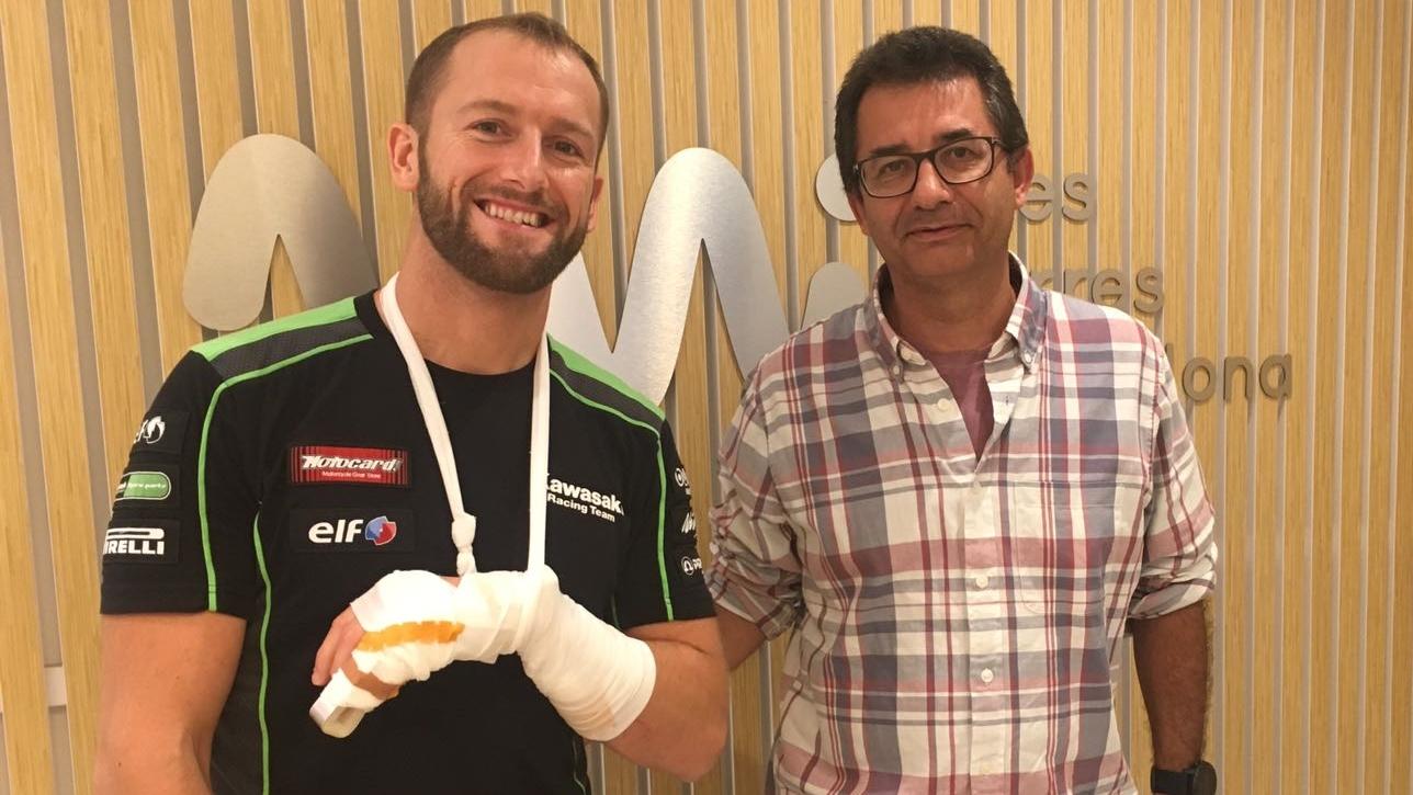 """Tom Sykes, tras ser operado con éxito: """"Se rompió el dedo meñique por la mitad"""""""