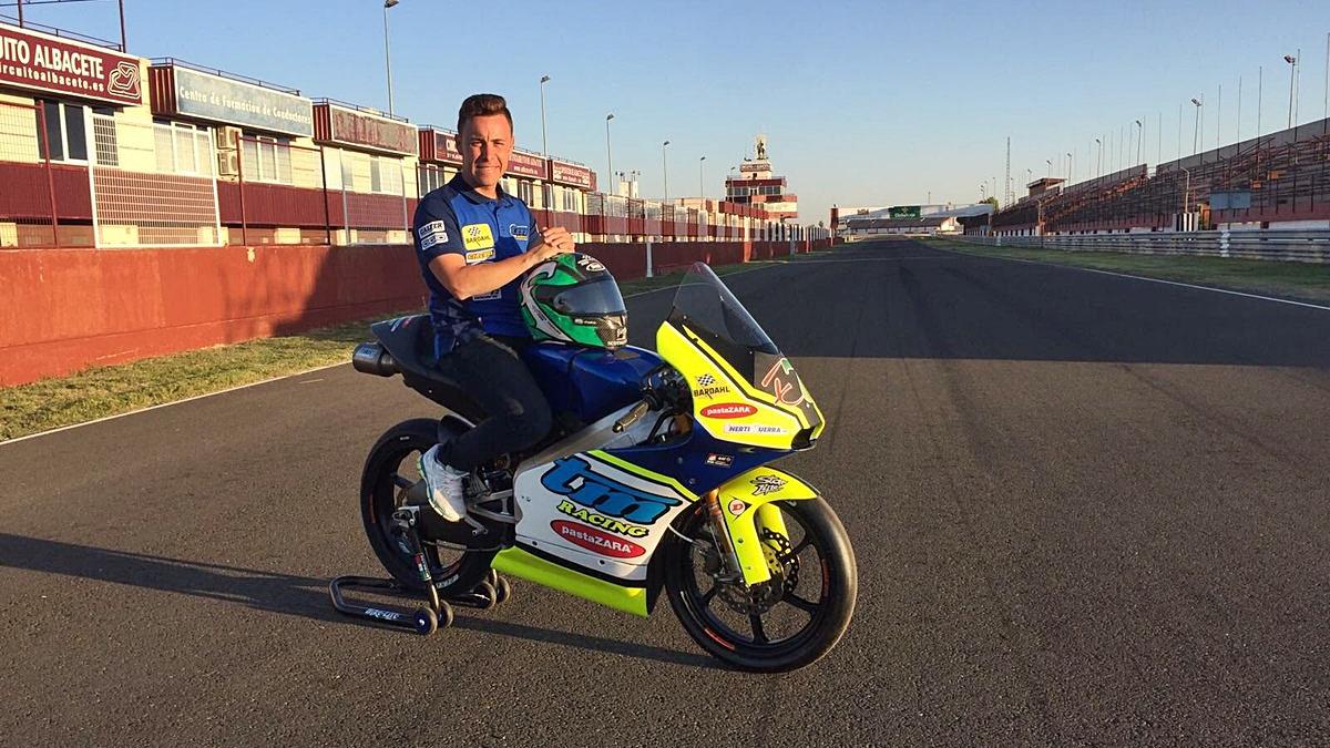 TM Racing ficha a Efrén Vázquez para desarrollar su Moto3