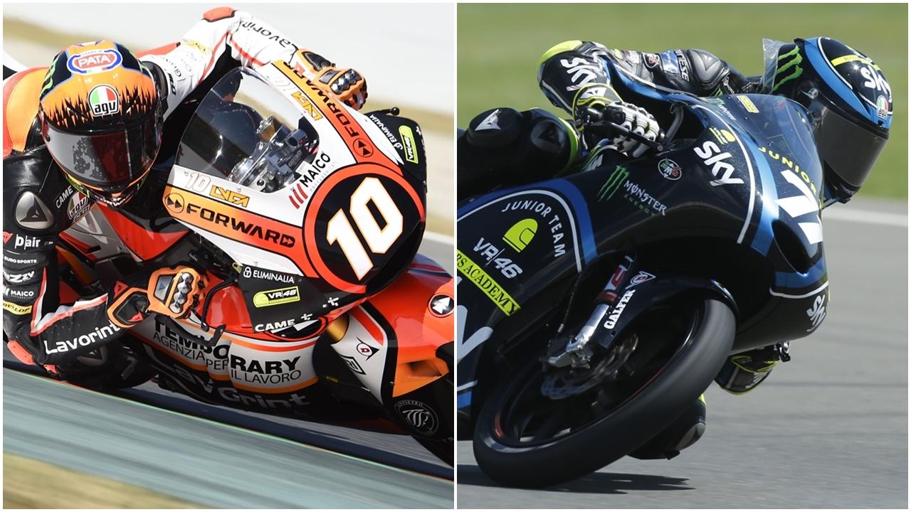 El Sky VR46 ficha a Luca Marini en Moto2 y sube a Dennis Foggia al Mundial de Moto3