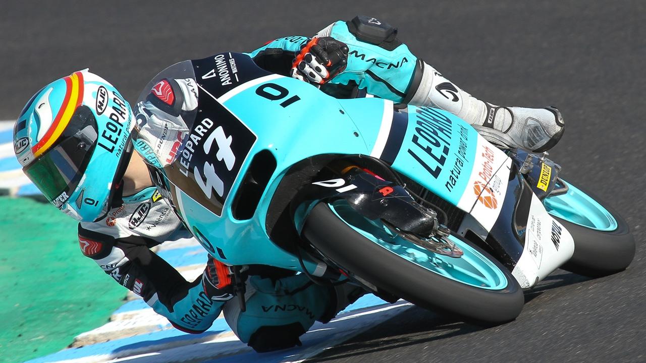 Aarón Polanco debutará en el Mundial de Moto3 en el GP de Aragón por Livio Loi