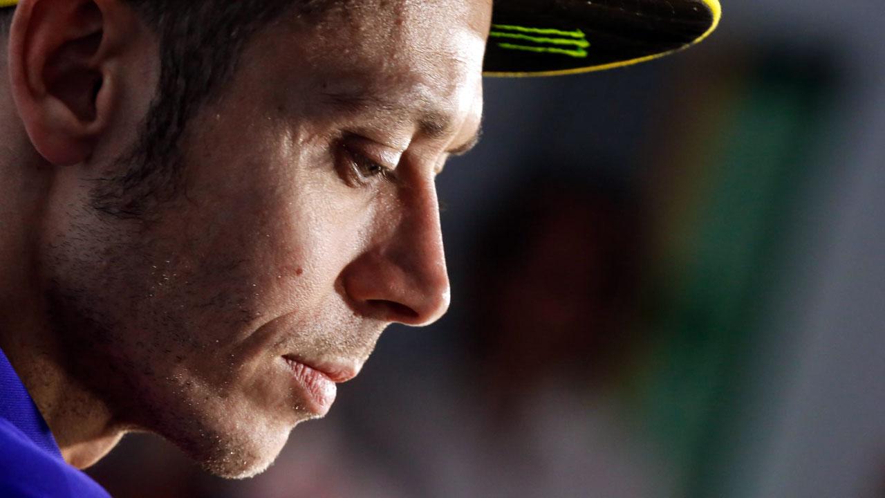 """Valentino Rossi: """"Me veo a un buen nivel y voy a probar pese al dolor"""""""