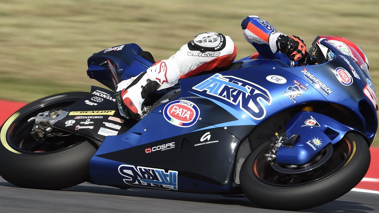 Mattia Pasini lidera en Motorland ante su compatriota Franco Morbidelli