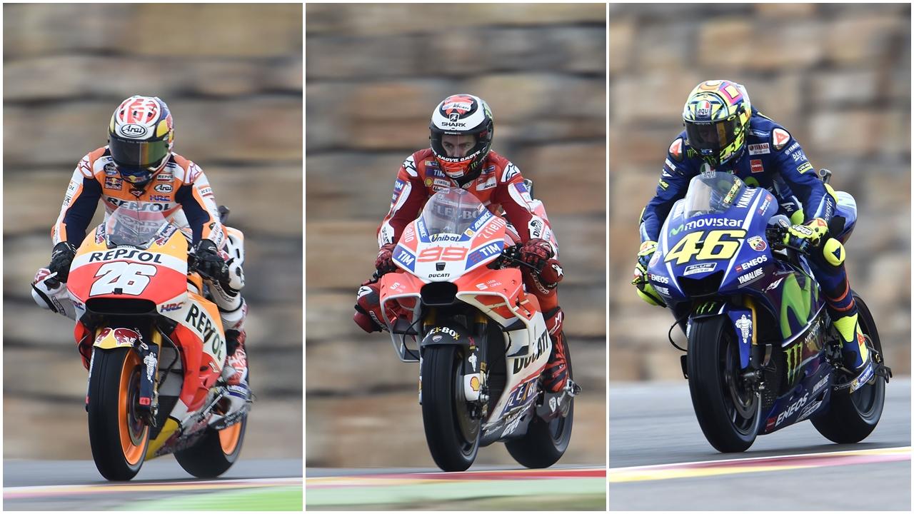Valentino Rossi, Dani Pedrosa y Jorge Lorenzo, tres jueces de lujo para MotoGP 2017