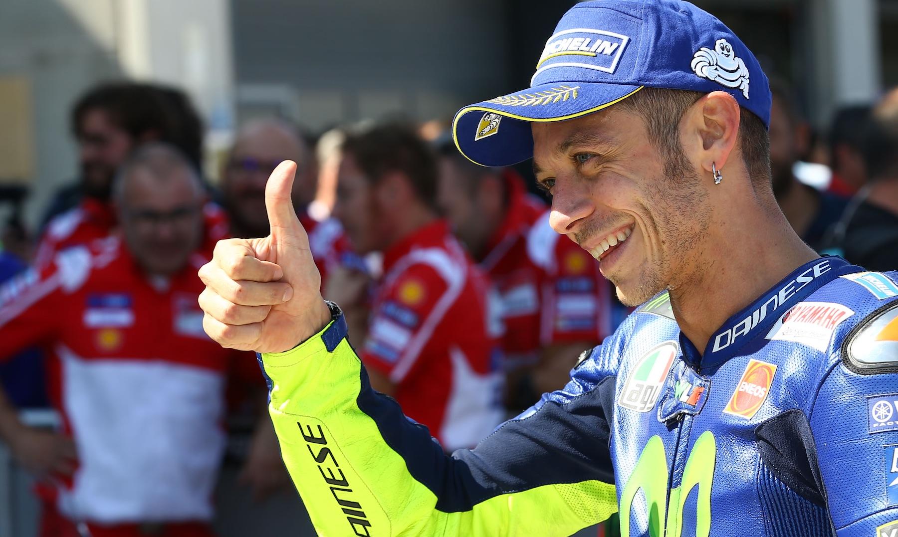 """Valentino Rossi: """"Antes me hubiera valido puntuar, ahora podemos pensar en algo más"""""""