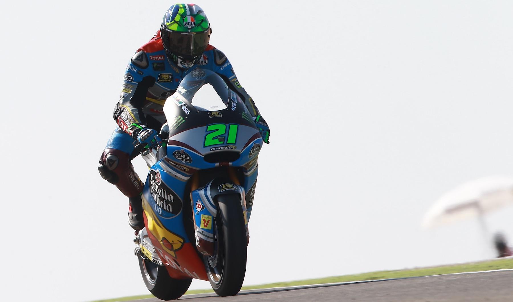 Octava victoria de Franco Morbidelli en una apasionante batalla con Mattia Pasini
