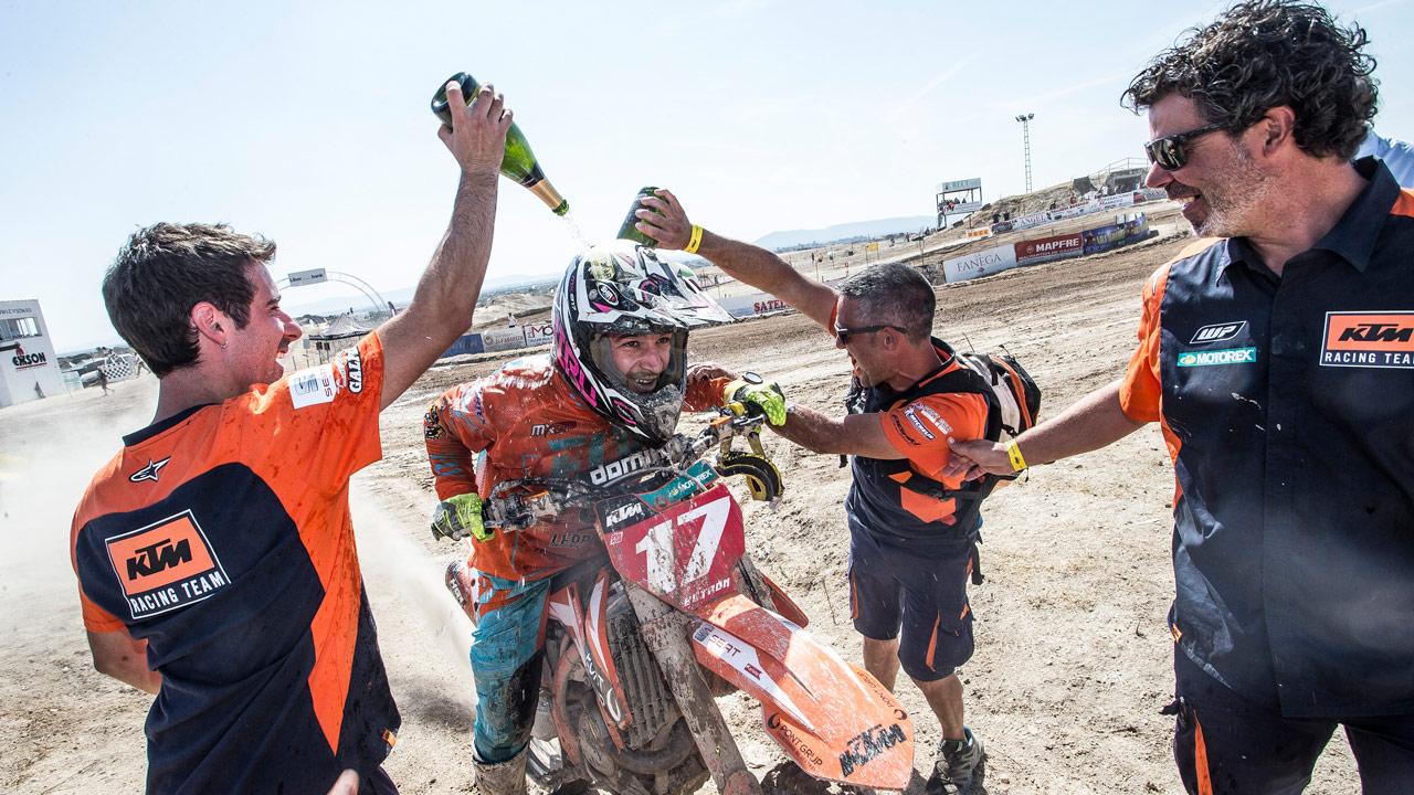 José Antonio Butrón conquista su duodécimo Campeonato de España de Motocross