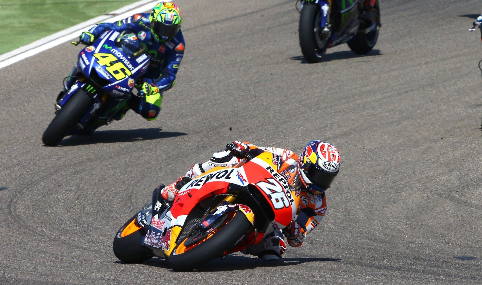 Valentino Rossi y Dani Pedrosa, ¿había razón para la polémica?