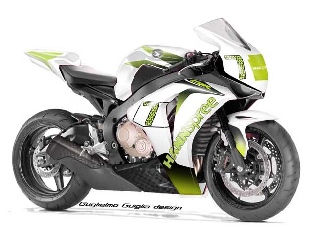 Diseño italiano de la Honda de Carlos Checa
