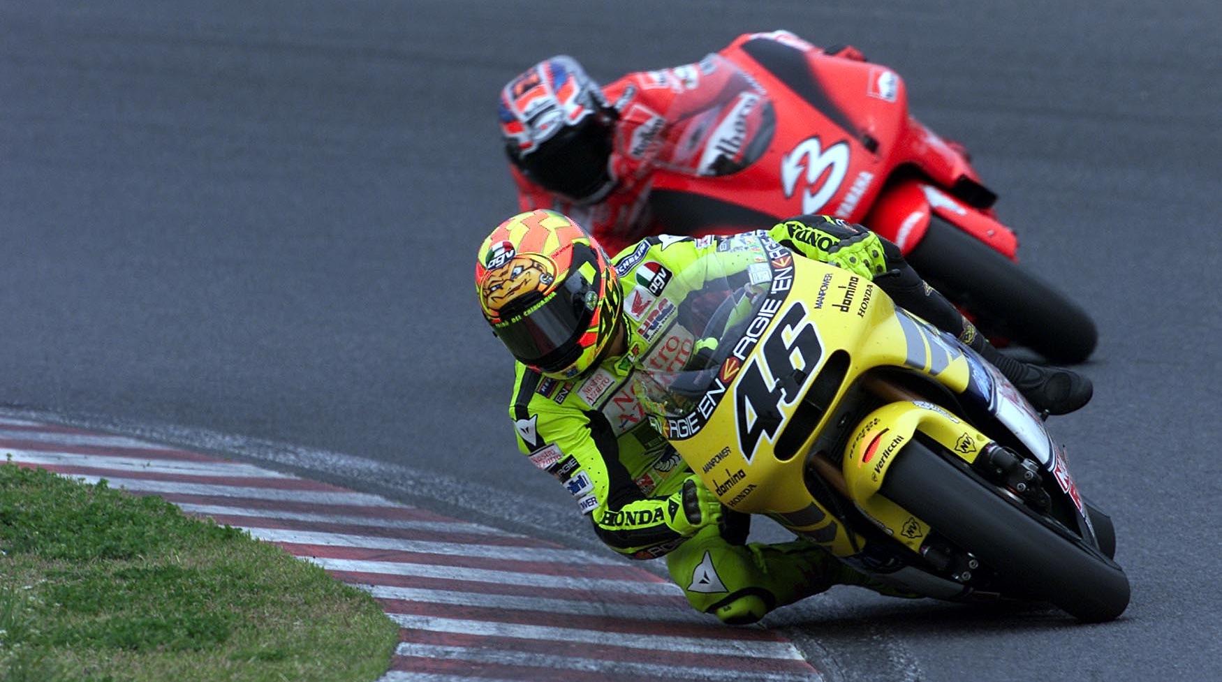 GP de Japón 2001: Valentino Rossi vs Max Biaggi, gratis y en directo desde las 14.00