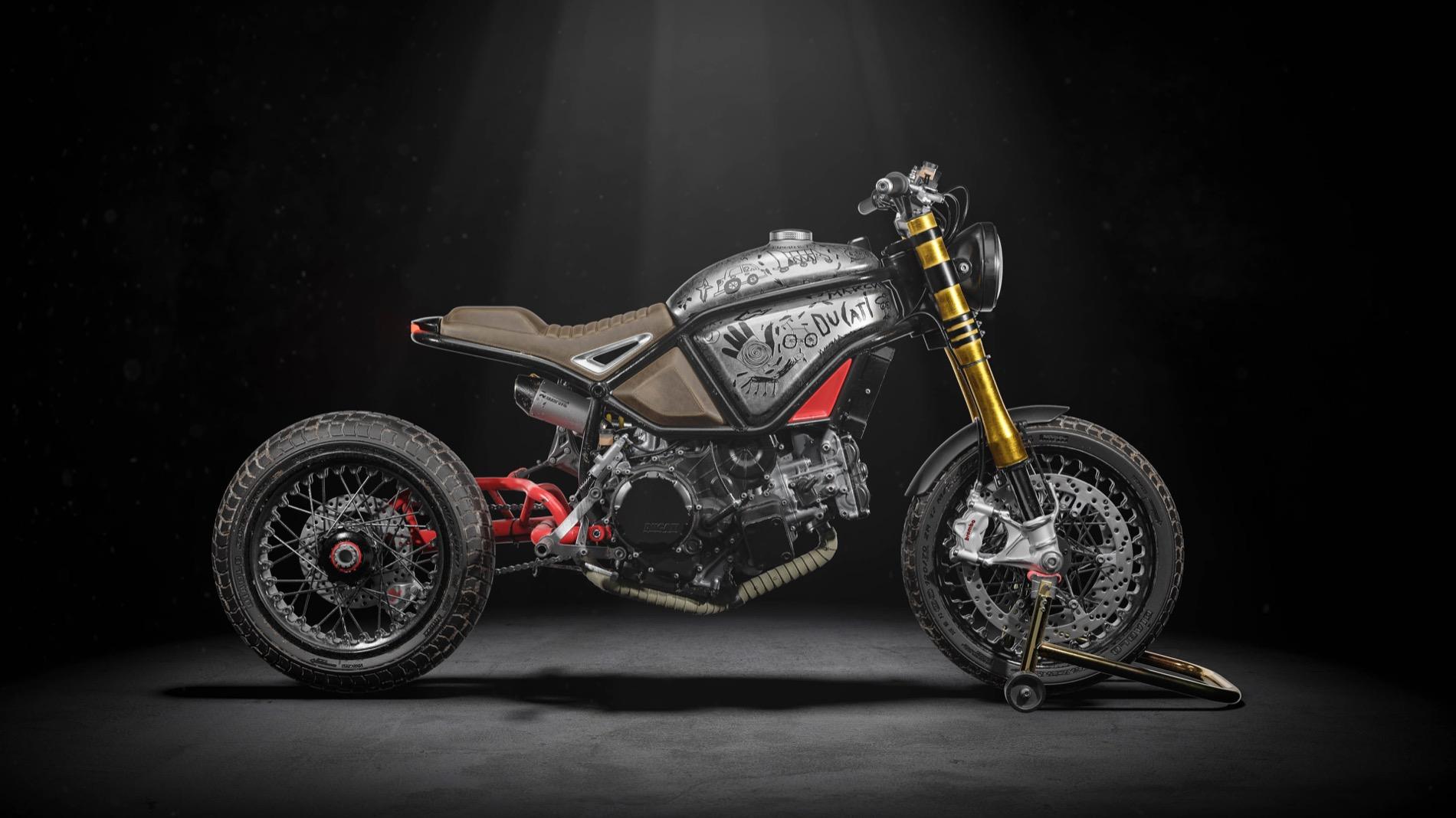 Naughty Quadro es el prototipo Mad Max sobre la Ducati 1299 Panigale